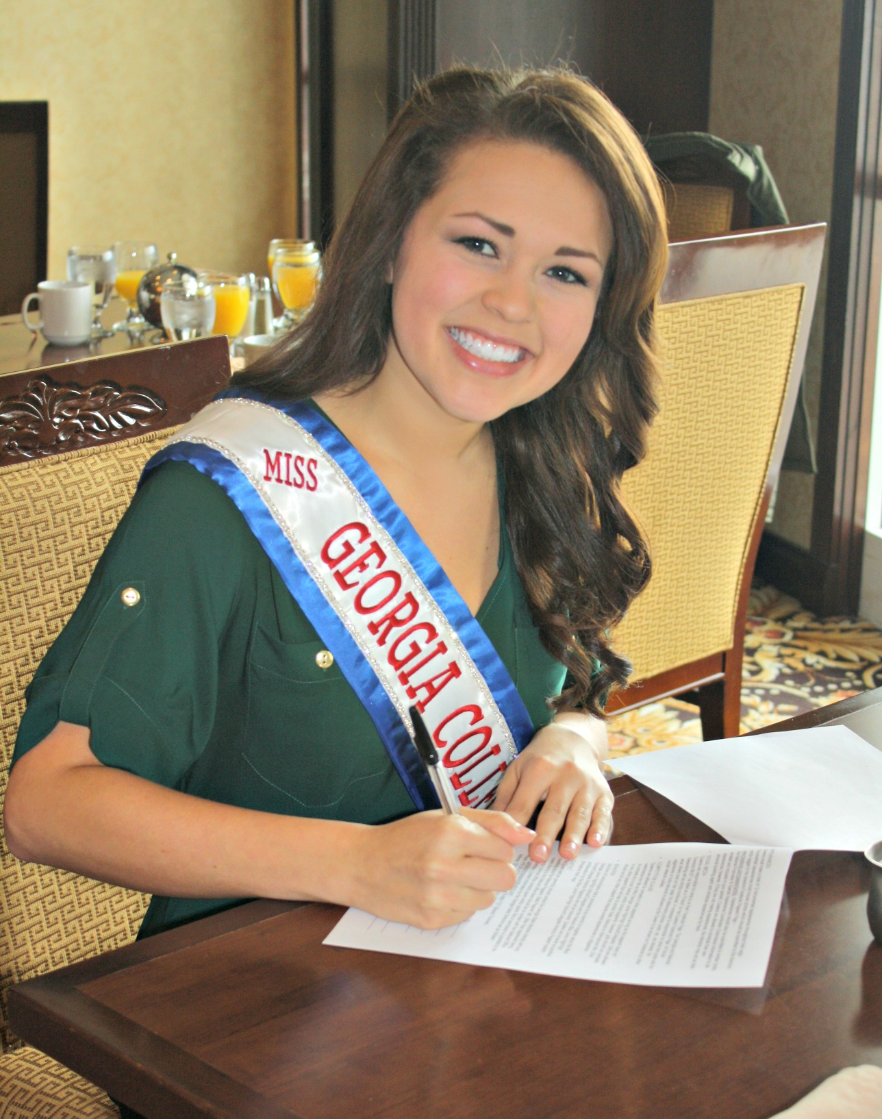 Miss Georgia Junior High, High School & Collegiate